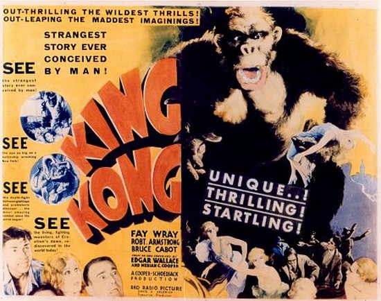king kong film effects movie poster