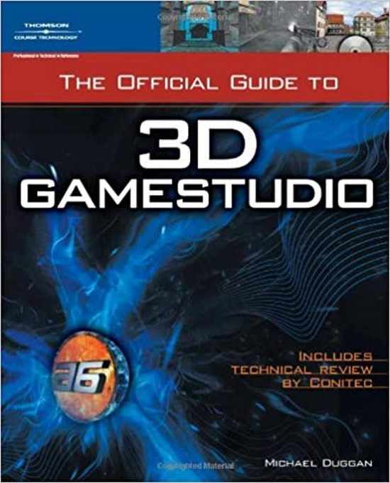 the official guide to 3d game studio mike duggan book cover